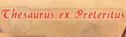 Thesaurus ex Preteritus