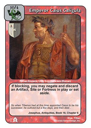 Emperor Caius Caligula