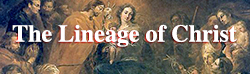 The Lineage of Christ
